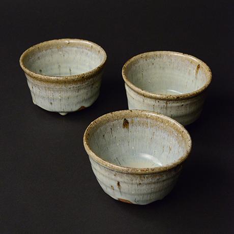 「No.S-31 斑唐津向付 五 / A set of 5 bowls, Madara-karatsu」の写真 その1