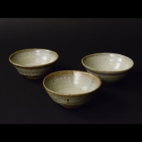 「No.S-35 斑唐津向付 五 / A set of 5 bowls, Madara-karatsu」の写真 その1