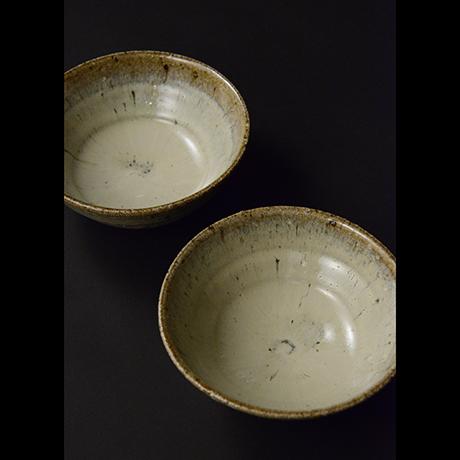 「No.S-35 斑唐津向付 五 / A set of 5 bowls, Madara-karatsu」の写真 その2