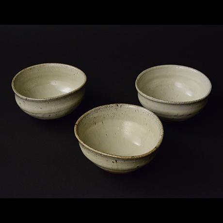 「No.S-40 斑唐津向付 五 / A set of 5 bowls, Madara-karatsu」の写真 その1
