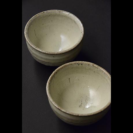 「No.S-55 斑唐津汲出 五 / A set of 5 cups, Madara-karatsu」の写真 その2