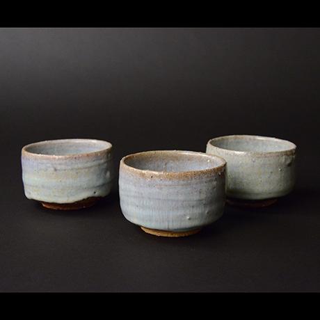 「No.S-58 斑唐津汲出 五 / A set of 5 cups, Madara-karatsu」の写真 その1