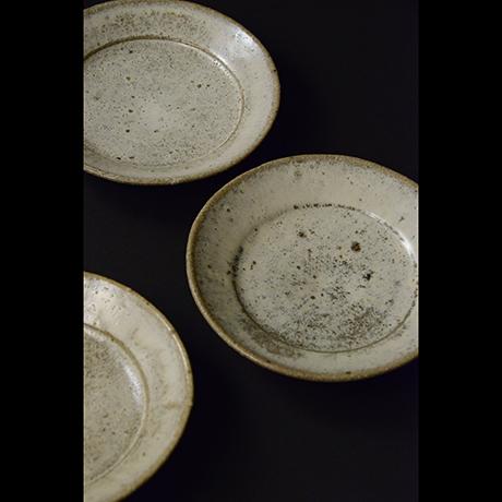 「No.S-6 斑唐津皿 五 / A set of 5 plates, Madara-karatsu」の写真 その2