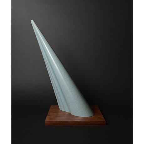 「No.図5 青瓷 光 / Object 'Ray',  Celadon」の写真 その3