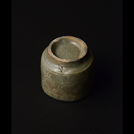 「No.163 魚文盃 Sake Cup, fish motif」の写真 その3