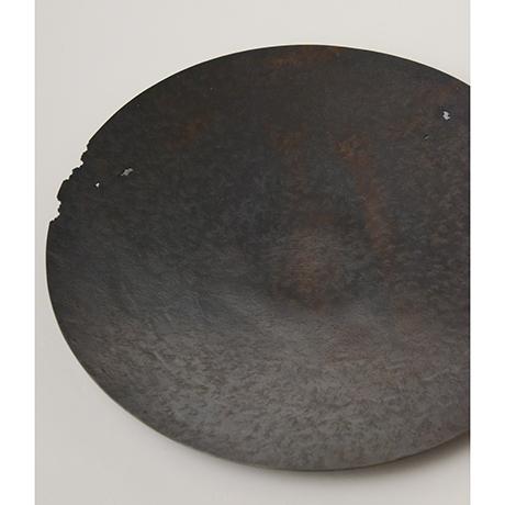 「No. 19 銅虫喰菓子器  / Plate, copper」の写真 その1