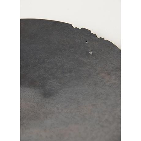 「No. 19 銅虫喰菓子器  / Plate, copper」の写真 その2