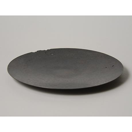 「No. 19 銅虫喰菓子器  / Plate, copper」の写真 その3
