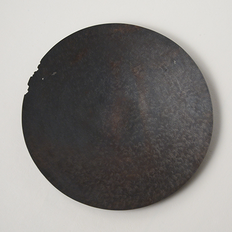 「No. 19 銅虫喰菓子器  / Plate, copper」の写真 その4