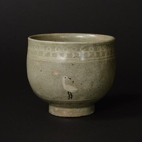 「No.194 鴻鵠茶碗 Tea Bowl, Bird motif」の写真 その1