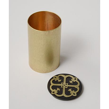 「No. 43 宣徳細茶器  / Chaki, copper」の写真 その4