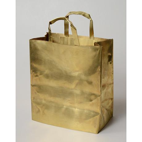 """「No. 48 真鍮  '紙袋' / """"Paper bag"""", brass」の写真 その1"""