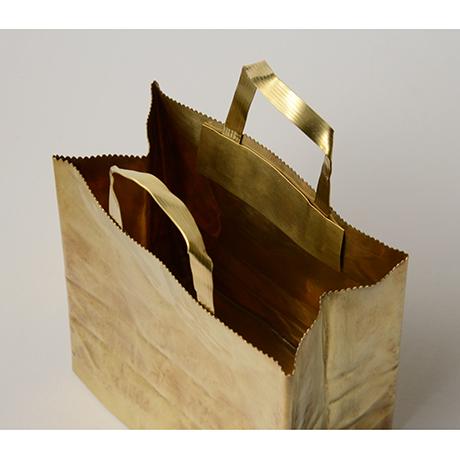 """「No. 48 真鍮  '紙袋' / """"Paper bag"""", brass」の写真 その3"""