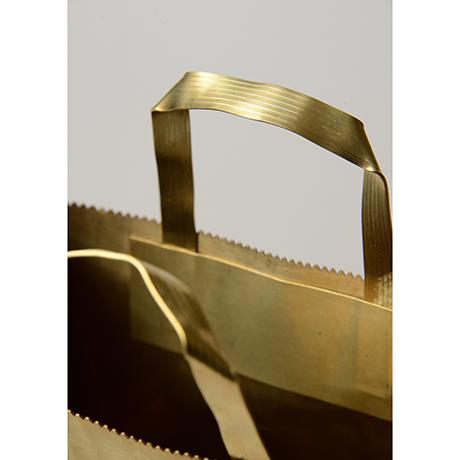 """「No. 48 真鍮  '紙袋' / """"Paper bag"""", brass」の写真 その4"""
