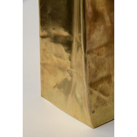 """「No. 48 真鍮  '紙袋' / """"Paper bag"""", brass」の写真 その5"""