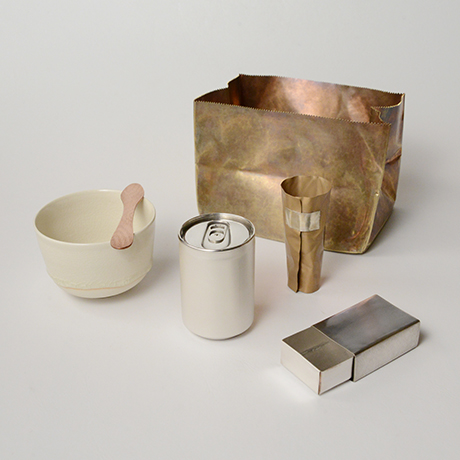 「No. 49 紙袋茶箱  / Tea set, silver」の写真 その1
