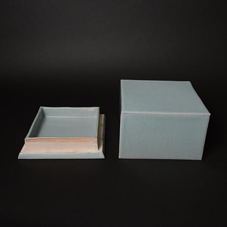 「No.図7 青瓷 箱 / Box, Celadon」の写真 その3