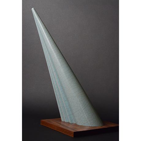 「No.図4 青瓷 光 / Object 'Ray',  Celadon」の写真 その4