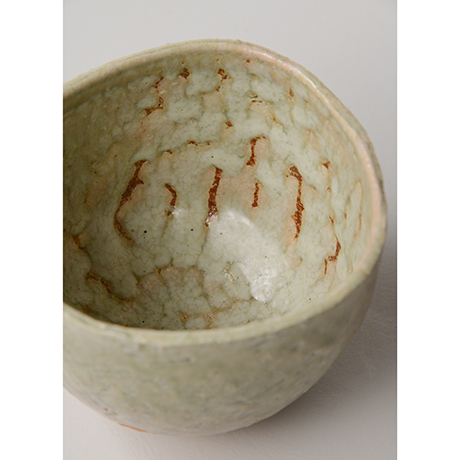 「HP14 金重愫 灰釉茶碗 / KANESHIGE Makoto Chawan, Ash glazed」の写真 その5