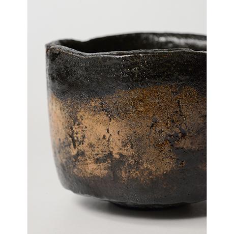 「HP25 直木美佐 黒楽茶碗 銘:飛鳥路 / NAOKI Misa Chawan, Raku ware」の写真 その5