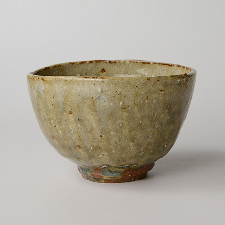 「HP13 金重愫 灰釉茶碗 / KANESHIGE Makoto Chawan, Ash glazed」の写真 その2