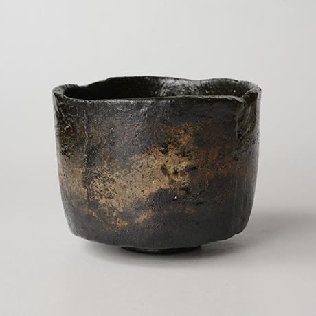 「HP25 直木美佐 黒楽茶碗 銘:飛鳥路 / NAOKI Misa Chawan, Raku ware」の写真 その2