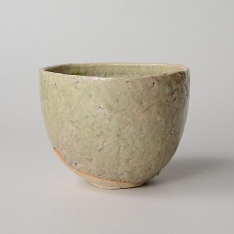 「HP14 金重愫 灰釉茶碗 / KANESHIGE Makoto Chawan, Ash glazed」の写真 その2