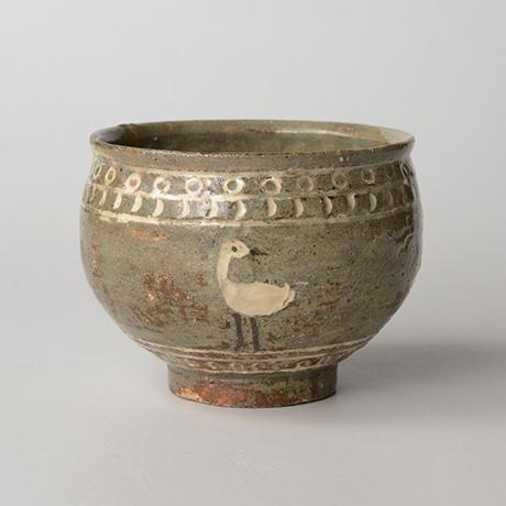 「HP15 菊池克 鴻鵠茶碗 / KIKUCHI Katsu Chawan, Bird motif」の写真 その1