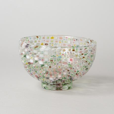 「HP6 江波冨士子 茶碗 花の庭 / ENAMI Fujiko Chawan」の写真 その2