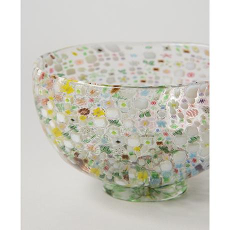 「HP6 江波冨士子 茶碗 花の庭 / ENAMI Fujiko Chawan」の写真 その5