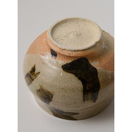「No.135 鉄画塩笥茶碗 Chawan, shioge-style with iron painting」の写真 その4