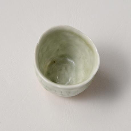 「No.27 縄文白瓷杯 Sakazuki, white porcerain, Jomon-style」の写真 その3