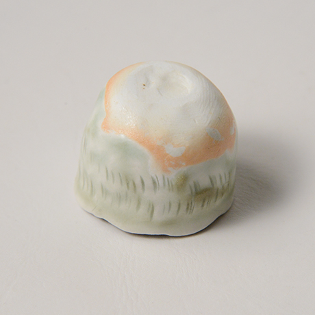 「No.27 縄文白瓷杯 Sakazuki, white porcerain, Jomon-style」の写真 その4