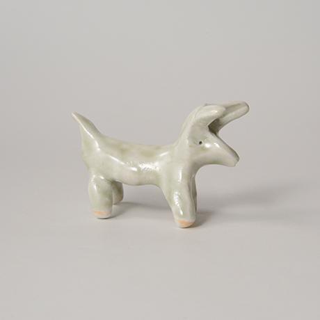 「No.68 白瓷の動物 Artwork, animal shape, white porcelain」の写真 その2