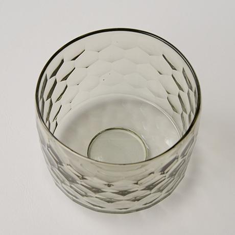「HP24 津田清和 円形切子筒碗 / TSUDA Kiyokazu Chawan」の写真 その2