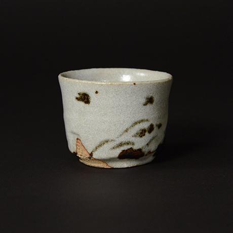 「No.68 唐津風酒盃 / Guinomi, Karatsu-style」の写真 その2