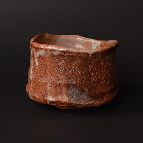 "「No.22 赤志野茶碗  銘「慈島」 / Tea bowl, Aka-Shino ""ITSUKUSHIMA""」の写真 その3"