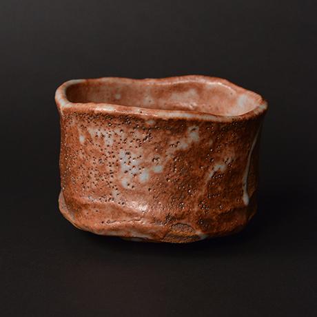 "「No.22 赤志野茶碗  銘「慈島」 / Tea bowl, Aka-Shino ""ITSUKUSHIMA""」の写真 その4"