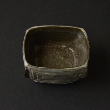 「No.44-2 祭器酒呑み / Sake cup, Buncheong style」の写真 その3