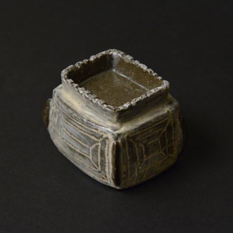 「No.44-2 祭器酒呑み / Sake cup, Buncheong style」の写真 その4
