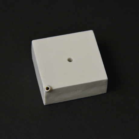 「No.56-1 トーフ型水滴 / Water droplet, White porcelain」の写真 その3