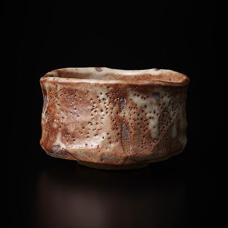 """「No.6 茜志野茶碗  銘「赤獅子」 / Tea bowl, Akane-Shino """"AKASHISHI""""」の写真 その1"""
