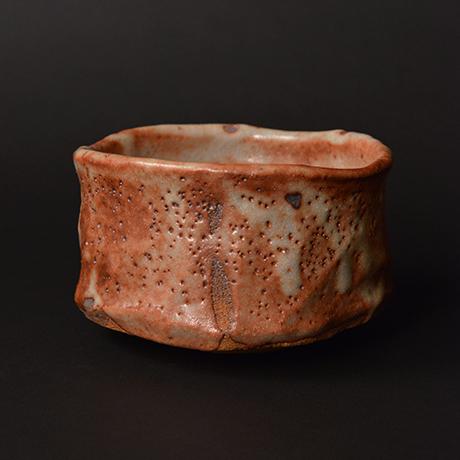 """「No.6 茜志野茶碗  銘「赤獅子」 / Tea bowl, Akane-Shino """"AKASHISHI""""」の写真 その2"""