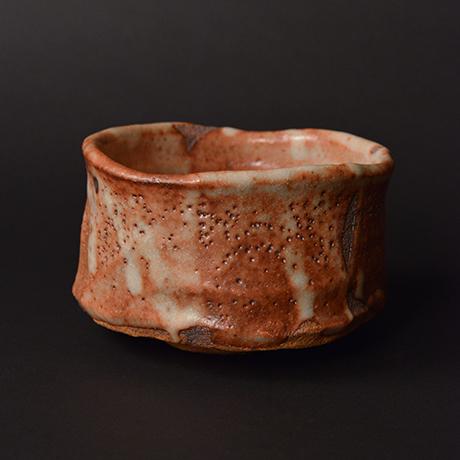 """「No.6 茜志野茶碗  銘「赤獅子」 / Tea bowl, Akane-Shino """"AKASHISHI""""」の写真 その3"""