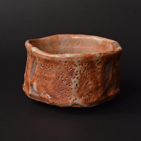 """「No.6 茜志野茶碗  銘「赤獅子」 / Tea bowl, Akane-Shino """"AKASHISHI""""」の写真 その4"""