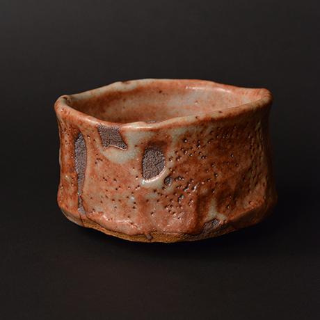 """「No.6 茜志野茶碗  銘「赤獅子」 / Tea bowl, Akane-Shino """"AKASHISHI""""」の写真 その5"""