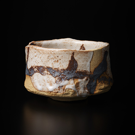 「No.7 志野茶碗  / Tea bowl, Shino」の写真 その1