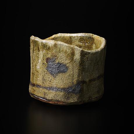 """「No.8 黄瀬戸茶碗 銘「月砂漠」/ Tea bowl, Kiseto """"TSUKI SABAKU""""」の写真 その1"""