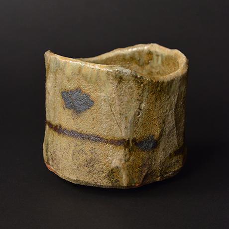 """「No.8 黄瀬戸茶碗 銘「月砂漠」/ Tea bowl, Kiseto """"TSUKI SABAKU""""」の写真 その4"""
