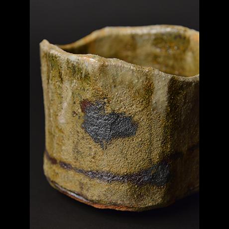 """「No.8 黄瀬戸茶碗 銘「月砂漠」/ Tea bowl, Kiseto """"TSUKI SABAKU""""」の写真 その8"""